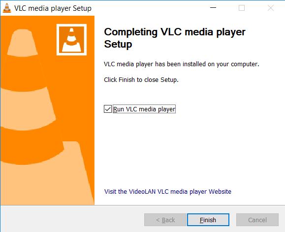 VLC-installation