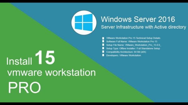 VMware Workstation Pro 15Full version