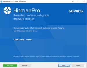 300px A Screenshot of HitmanPro release version 3.7.8
